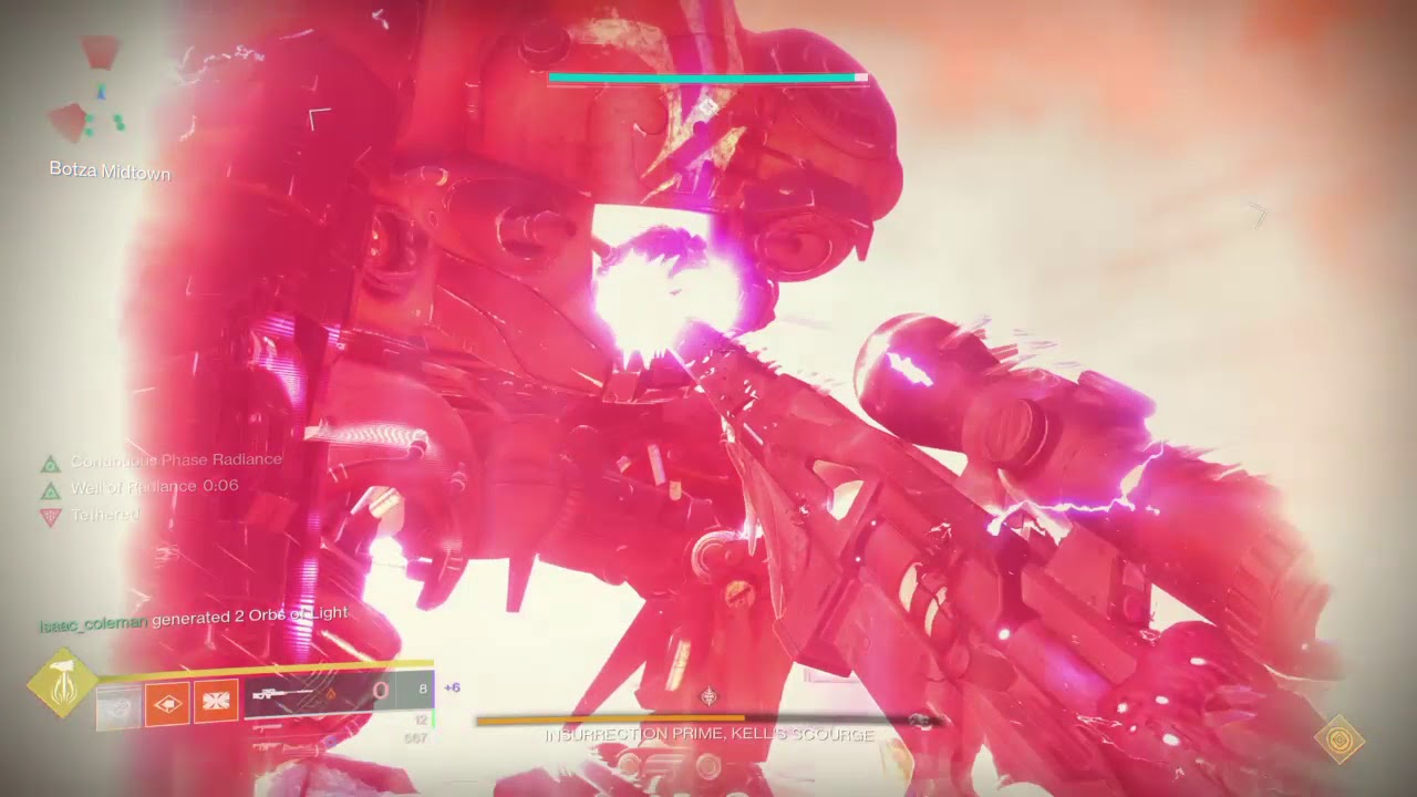 You Can Cheese Insurrection Prime In Destiny 2's Scourge Of