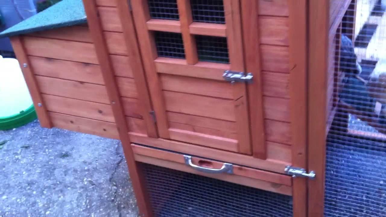Caseta de madera para gallinas lyon youtube for Caseta jardin leroy merlin