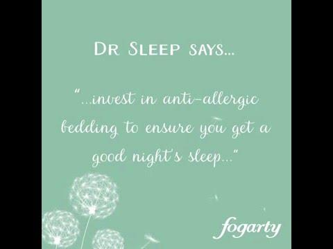 Dr Sleep's Tip #3: Invest in anti-allergy bedding