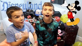 SURPRISING OUR KIDS WITH A TRIP TO DISNEYLAND TO CELEBRATE 100K SUBSCRIBERS!