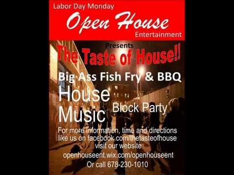 Taste of Atlanta House Music Block Party Sept 1, 2014