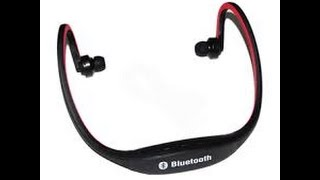 How to connect Sports-BT Bluetooth Headset to Samsung Note 5