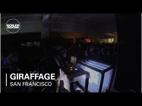 Giraffage Boiler Room San Francisco Live Set