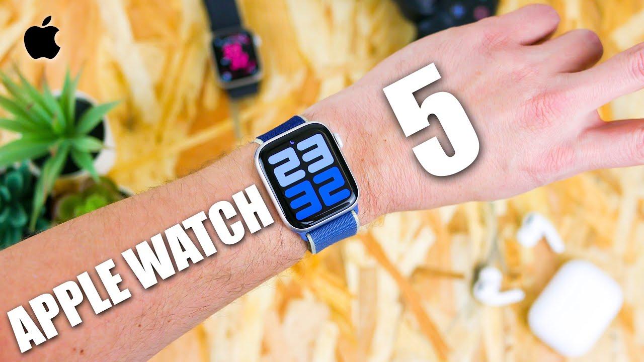 Apple Watch 5 AVIS après 6 mois ! + 44 mm ou 40 mm ?
