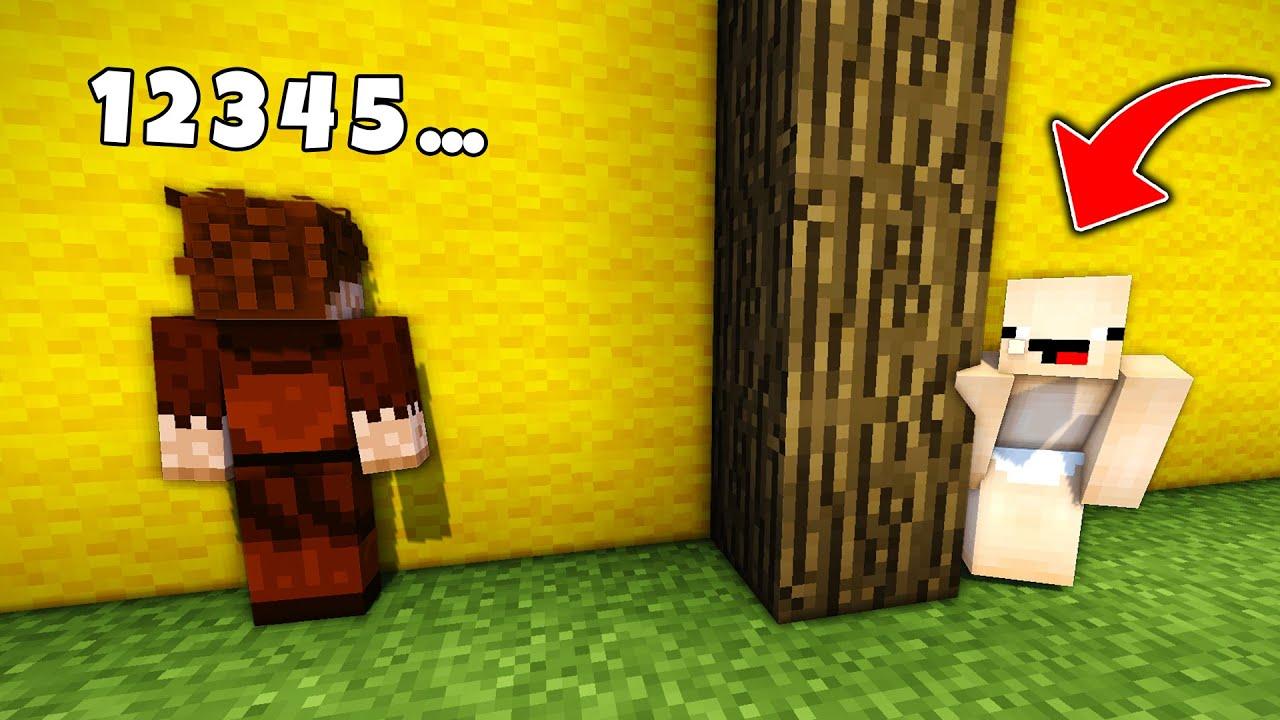FAKİR VE SAKAR İLE SAKLAMBAÇ OYNADIK !! 😱 - Minecraft