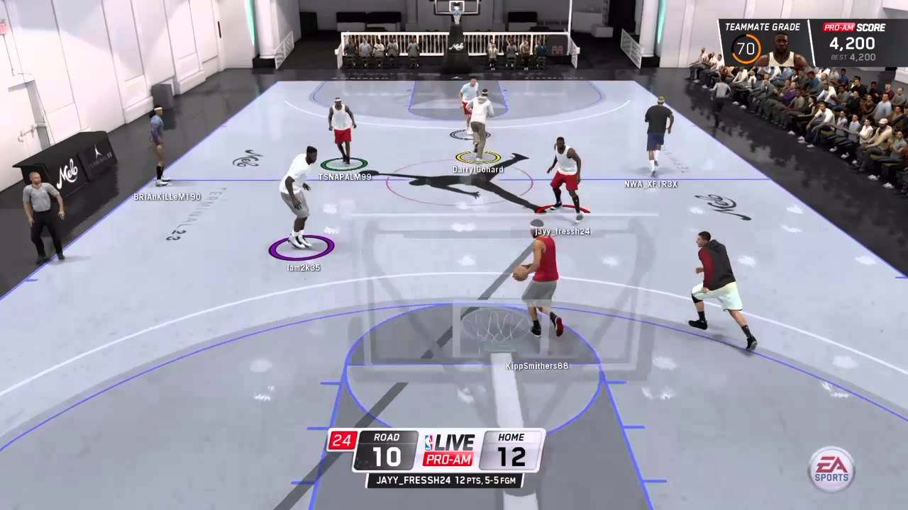 ea7d344cd82 NBA Live 16 Pro-AM -SCORING MACHINE AT TERMINAL 23!! - YouTube