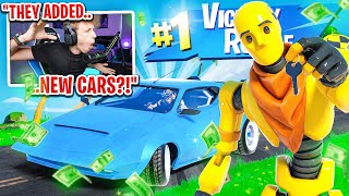 FORTNITE ACTUALLY ADDED CARS... (new car update)