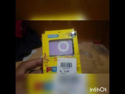 Unboxsing!mp3 player murah meriah!!