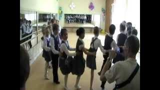 Открытый урок по ритмике 1 класс, часть 3