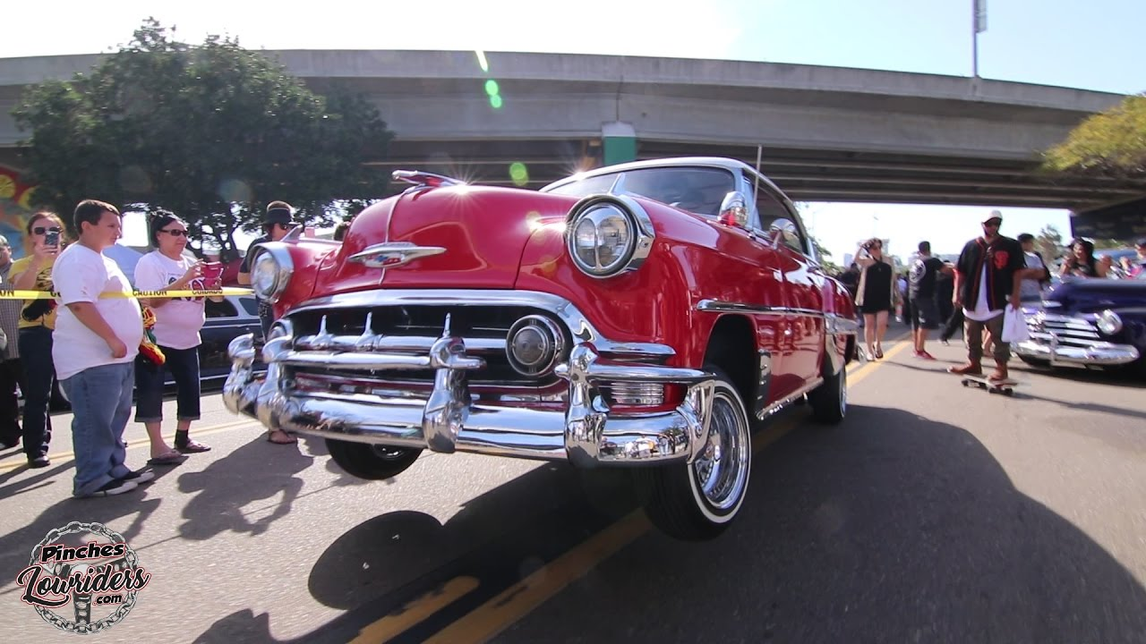 Chicano Park Day YouTube - San diego lowrider car show 2018