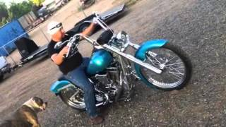 Justins Custom 127 V Twin Bikes First Ride!