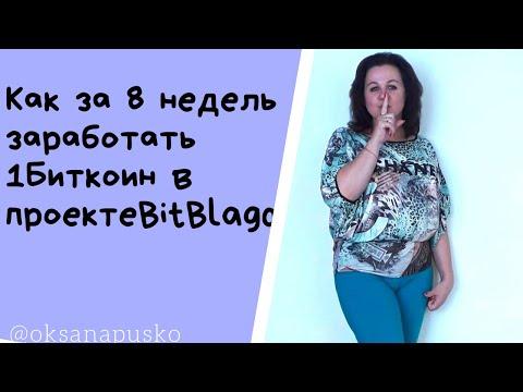 #БитБлаго #BitBlago Как за 8 недель заработать 1 Биткоин в проекте Битблаго