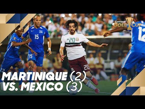 Martinique (2) vs. Mexico (3) – Gold Cup 2019