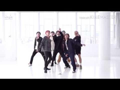 【BTS 防弾少年団】Boy with luv/ダンス練習用/反転【mirror dance Practice】