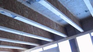 TJI Floor Framing and Support Beams