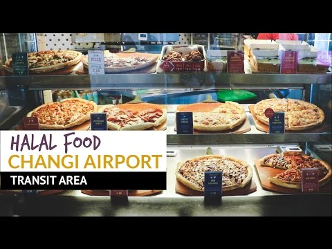 Changi Airport Singapore | Halal Food at Changi Airport Transit Area