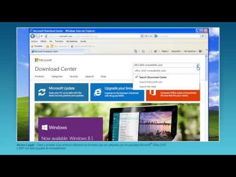 Movistar - Cómo Instalar El Paquete De Compatibilidad De Microsoft Office 2010