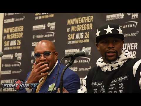 Floyd Mayweather talks Racism 'They call me cocky, same guy steals my blueprint & they praise him'