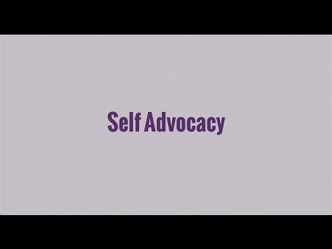 004 Self Advocacy