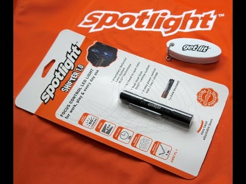 SpotLight Flashlight Review