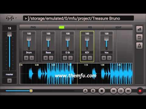 Bruno Mars Treasure Multi-Track Audio