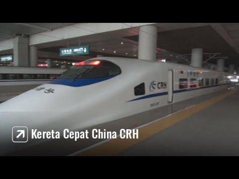 Naik Kereta Cepat Canggih di China CRH China Railways High-speed