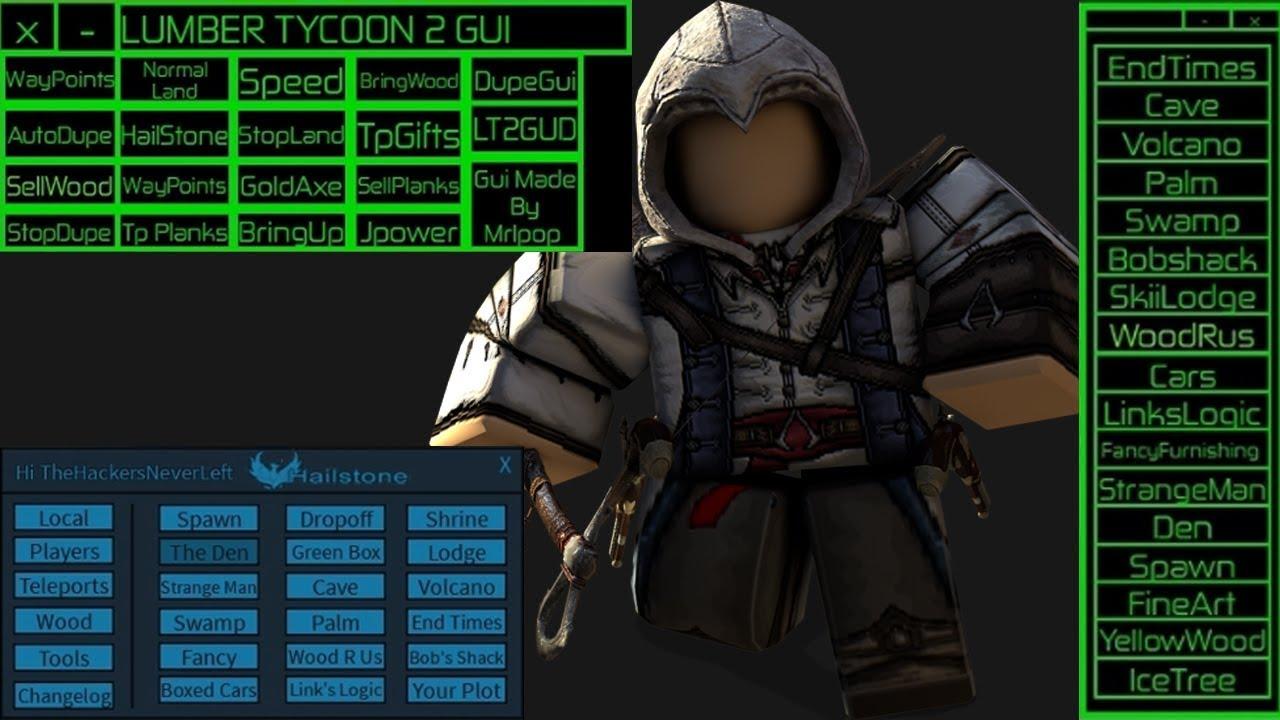 ROBLOX HACK/SCRIPT! | LUMBER TYCOON 2 | GUI, GOLD AXE, TELPORTS