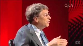 QandA Bill Gates on philanthropy