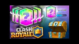 YUH !! 5 TANE EFSANEVİ KART ÇIKARTTIM !! - Clash Royale