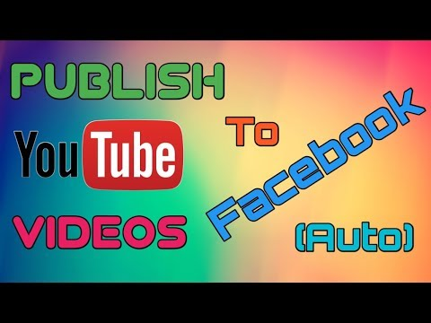 How to Auto Publish YouTube Videos on a Facebook Page or Profile - Upload video [ Tricky Droid ]
