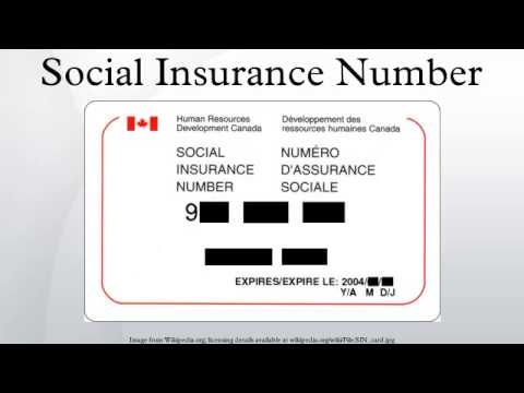How to Change the Name on a Social Insurance Number ...