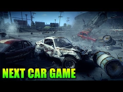 Next Car Game - Spiritual Successor Of Flatout - Amazing Physics