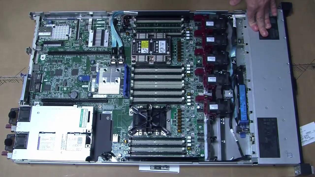 ProLiant Gen10: Unboxing of a DL360 Gen10 Server
