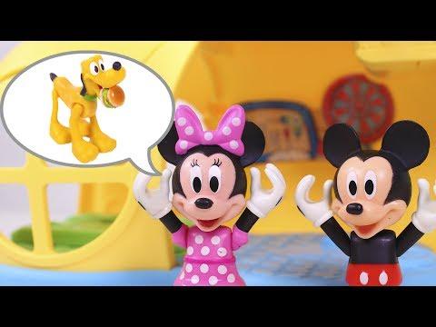 🌟 MICKEY MOUSE 🌟 Mickey y Minnie pierden a Pluto y Donald les ayuda   Disney Juguetes en Español
