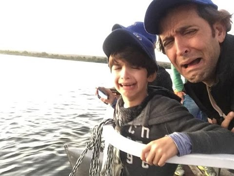 Hrithik Roshan takes his sons to South Africa