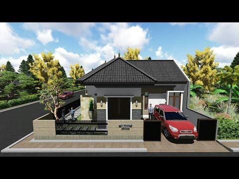 desain rumah - lantai satu - youtube