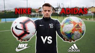 NIKE vs ADIDAS - KTÓRA PIŁKA LEPSZA? | Porównanie Piłek | GDfootball