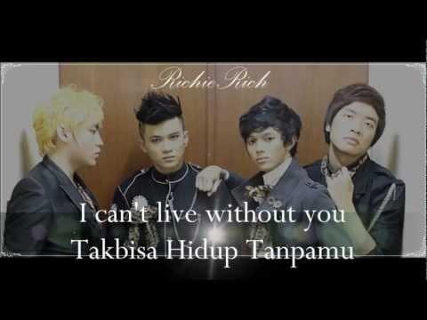 RichieRich - T.H.T (Takbisa Hidup Tanpamu) [Official Lyrics Video]