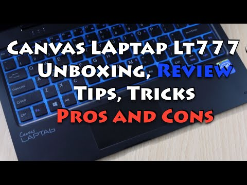 Micromax Canvas Laptab LT 777 Unboxing, Quick Review, Features, Pros and Cons