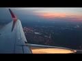 Aeroflot A320 Sharklets Moscow Sheremetyevo-Tbilisi Safety, Takeoff, Inflight, Landing