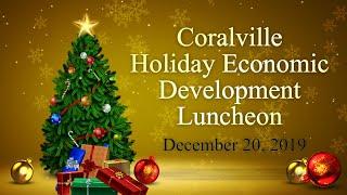 Coralville West Bank Holiday Economic Development Luncheon (dec. 20, 2019)