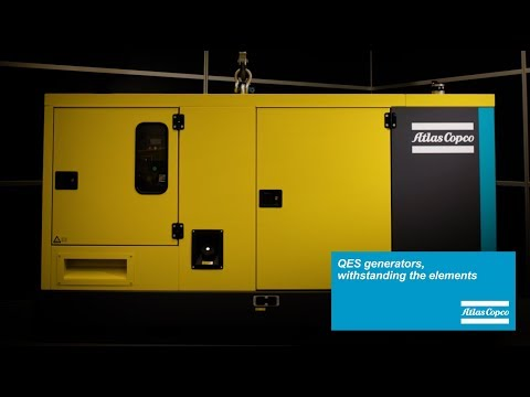 Diesel Power Generators for construction site and rental industries Atlas Copco