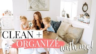 NURSERY + TOY ORGANIZATION: CLEAN WITH ME! | Kendra Atkins