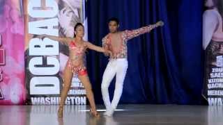 Jorge Martinez & Maria Catalan at DC Bachata Congress 2015