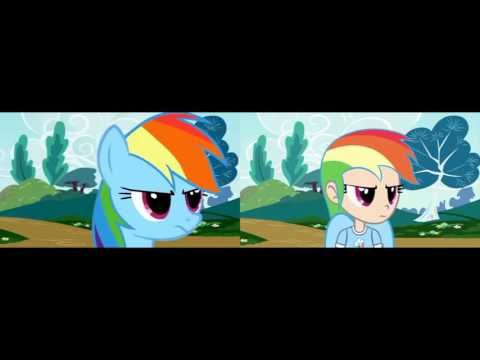 Rainbowlicious (MLP vs MLH version)