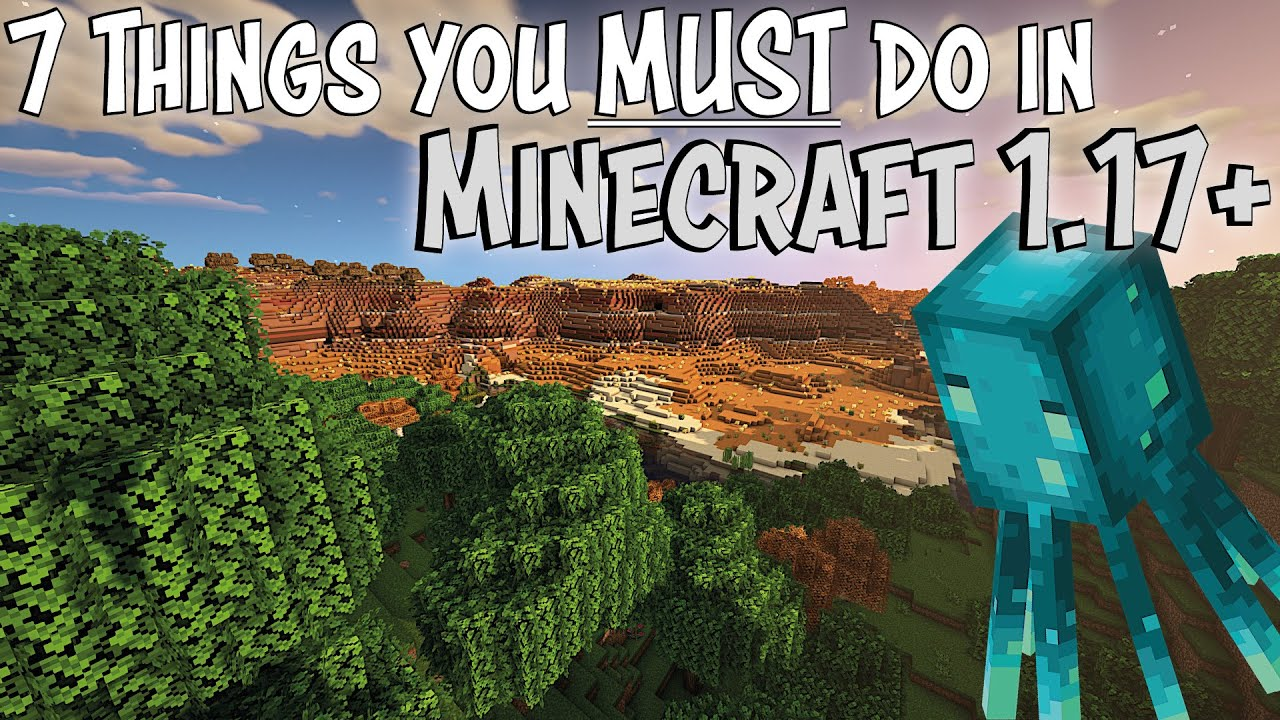 7 Huge Tips and Tricks for Minecraft 1.17 and Minecraft 1.18 you need to know for Survival Minecraft