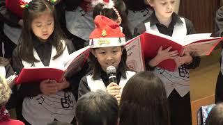畢架山小學合唱團演唱 2018 12 08 1559 4K 太古城中心