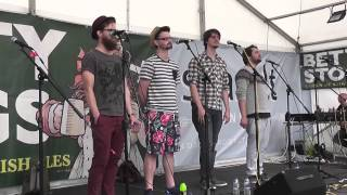 The Longest Johns - Polly on the Shore - Falmouth 2014