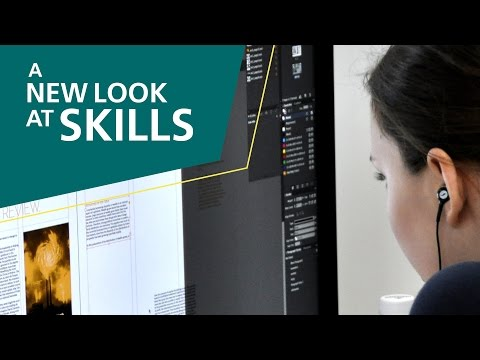 A New Look At Skills, 2015: 40 – Graphic Design Technology