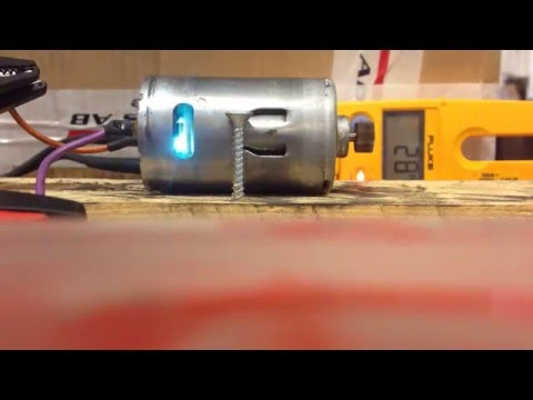 AC Vs DC Destruction Over Voltage